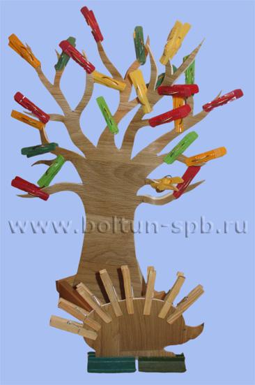 УПРАЖНЕНИЯ С ПРИЩЕПКАМИ (Дерево); © Аверина Кристина